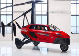 The world's first flying car unveiled in Switzerland