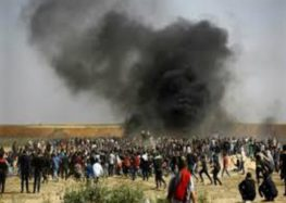 Five Palestinians injured by Israeli fire near Gaza border