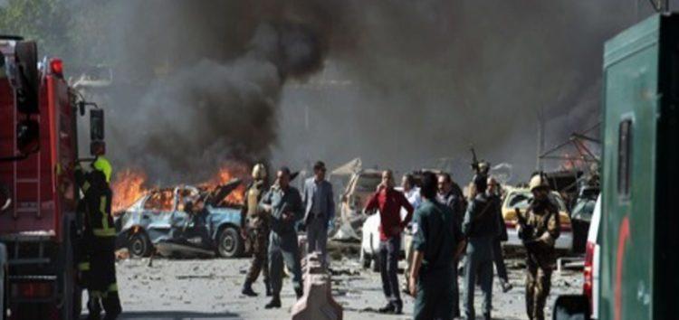 Twin blasts kill 21, including journalists in Kabul