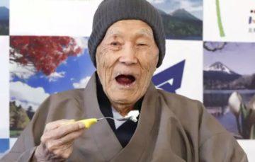 Meet the world's oldest living man