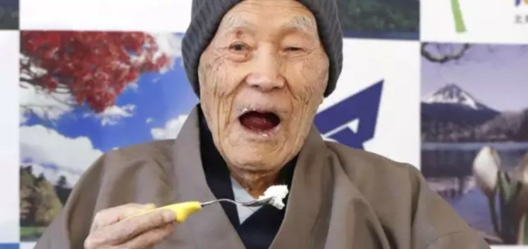 Meet the world's oldest living man
