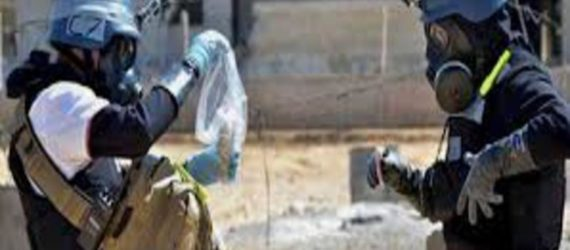 OPCW inspectors have samples from Douma