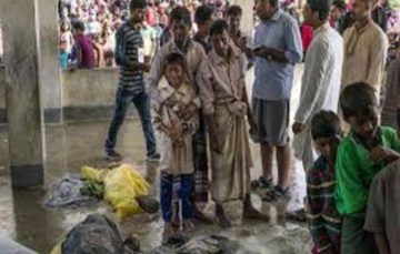 UN team visits Bangladesh to get a firsthand look at the plight of Rohingya Muslims