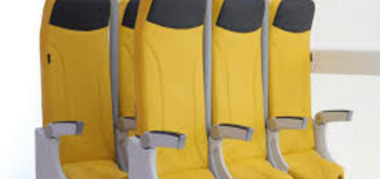New upright airline seat could see 20% more passengers fit into planes