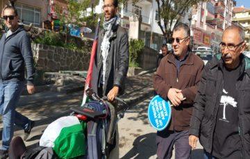 Swedish activist trekking for Palestine reaches Ankara