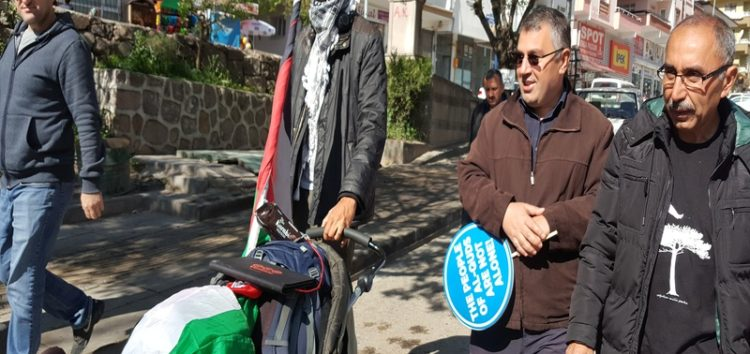 Swedish activist trekking for Palestine reaches Ankara