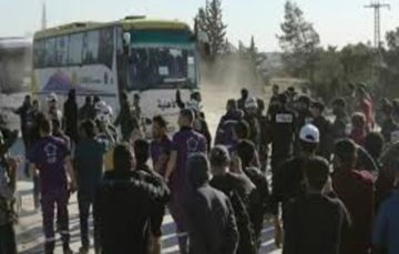 Evacuation of Syria's Douma suspended over disagreements