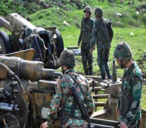 Syrian forces targeting Homs and Qalamoun near Damascus
