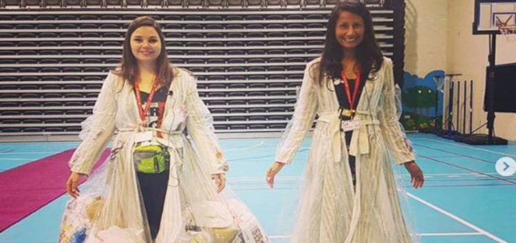 Two women in UAE take waste awareness to new lengths