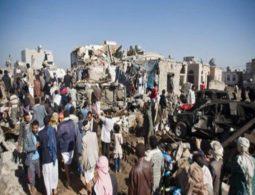 Saudi coalition strikes Yemen wedding, kills bride and guests