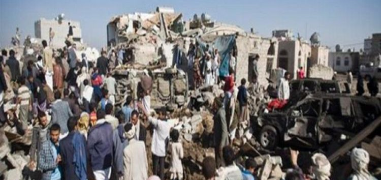 Saudi coalition strikes Yemen wedding, kills bride and guests