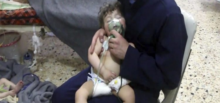 Watchdog confirms chemical weapon use in Syria's Douma
