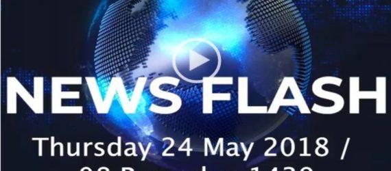 Cii Radio News Flash- 24 May 2018 08 Ramadaan 1439
