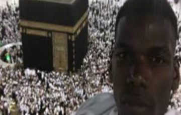 Paul Pogba's Umrah message