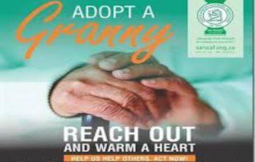 Spread the love and adopt a granny #SANZAF