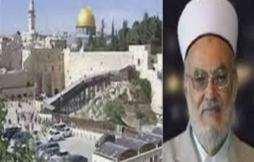 Israel bars al-Aqsa imam from travel for 1 month