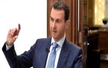 Assad pledges to regain control of northern Syria