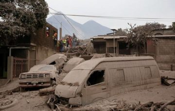 Residents recall volcano Fuego's flow of hot gas and volcanic mud that consumed villages