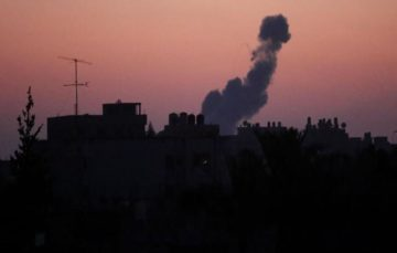 Israeli military conducts airstrikes on Gaza Strip