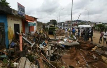 Ivory coast: Deadly floods claims 17 lives