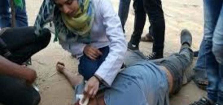 Palestinian paramedic shot dead by Israeli forces in Gaza