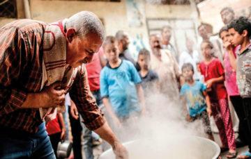 Meet Gaza's 'souperman' as he fills bellies, lifts spirits of the needy