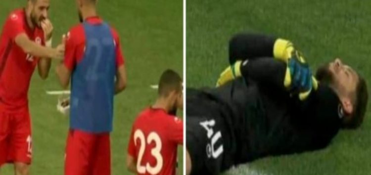 Tunisia keeper finds a clever way to help players make iftaar