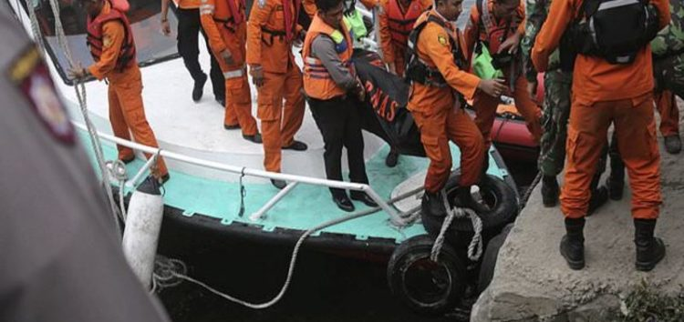 At least 166 missing after wooden ferry encounters bad weather, sinks in Indonesia