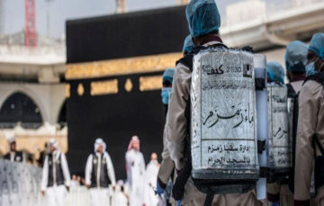 3,000 tons of Zam zam water consumed on 27th night of Ramadan