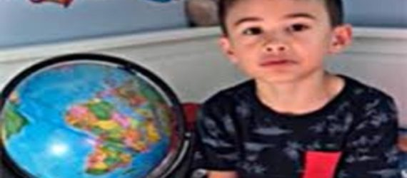 Meet Madden Landicho, the six year old boy who can name every country in alphabetical order