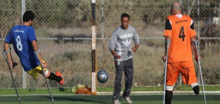 Meet the champions on crutches: Gaza's first amputee football team