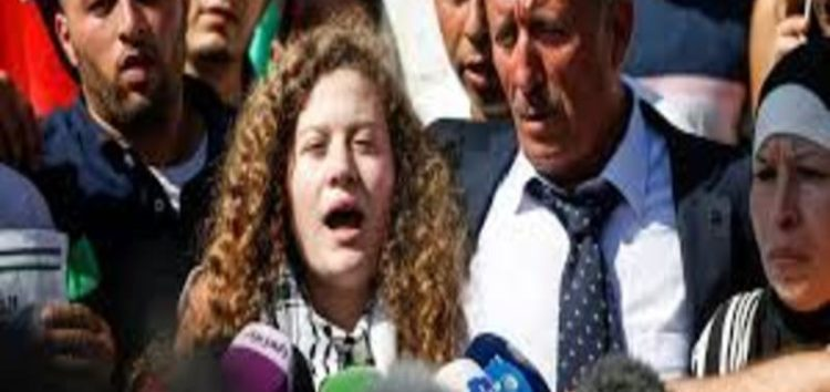 Ahed Tamimi released from Israeli jail, vowing to continue resistance