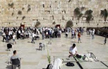 Palestinians investigate crumbling of Al-Buraq Wall