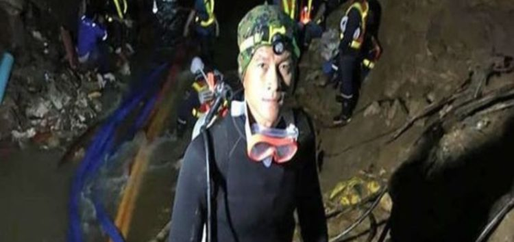 Thai diver dies while trying to save trapped boys