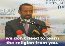 'You've lost Islam': Ethiopian PM recounts snub to Abu Dhabi Crown Prince