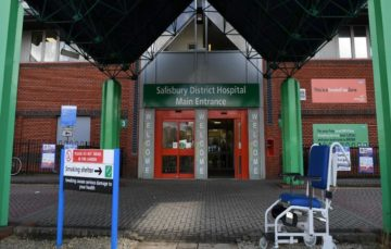 Salisbury: 'Unknown substance' hospitalises two