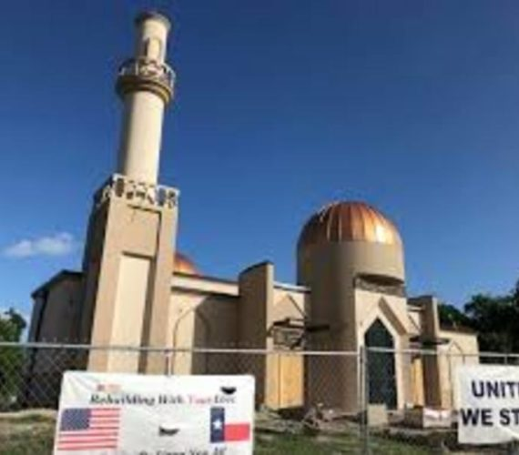 Man found guilty of hate crime in burning of Texas mosque