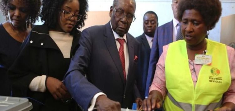 Vote counting under way in historic Zimbabwe elections