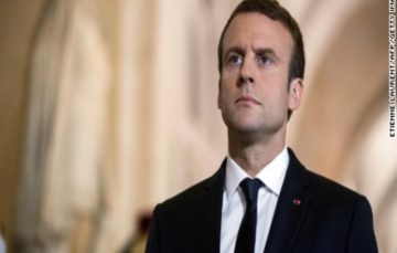 Macron: Assad remaining in power would be 'fatal error'