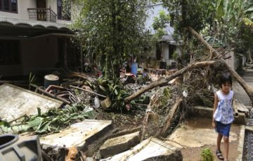 Kerala flood survivors face 'great struggle' to rebuild their lives