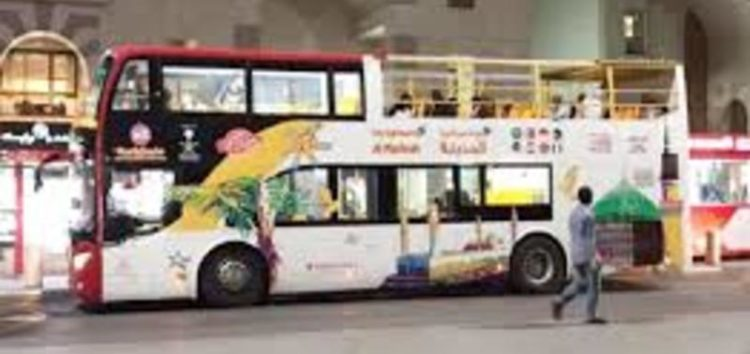 Madinah introduces multilingual double-decker bus tour for Hujjaaj