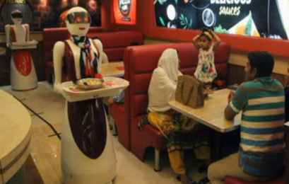 Growing trend – 'Robot waiters' serving food in India