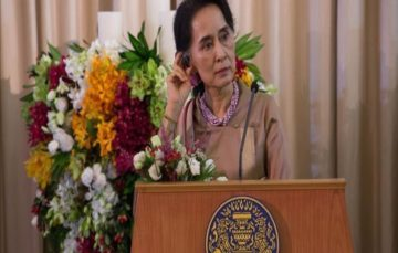 UN Chief:Myanmar leader Aung San Suu Kyi 'should have resigned'