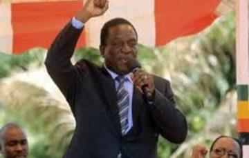 Zimbabwean President Emmerson Mnangagwa sworn in