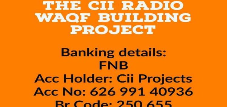 Support Cii Radio Waqf Building Project