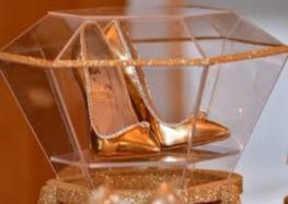 Diamond-trimmed shoes go on sale for $17 million in Dubai