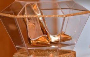 Diamond-trimmed shoes go on sale for $17 million in Dubai