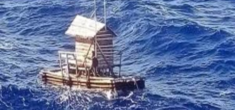 An Indonesian boy miraculously survived 49 days alone at sea