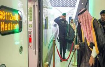King Salman inaugurates Haramain high-speed train line