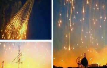 Moscow says the US is using banned white phosphorous in Syria